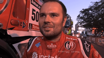 Rallye Dakar 2014. Ales Loprais
