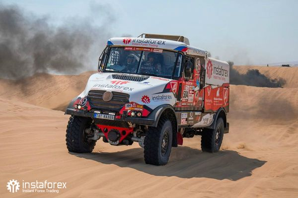 InstaForex Loprais Team at Dakar Rally 2018
