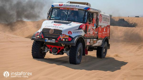 InstaForex Loprais Team at Dakar Rally 2018