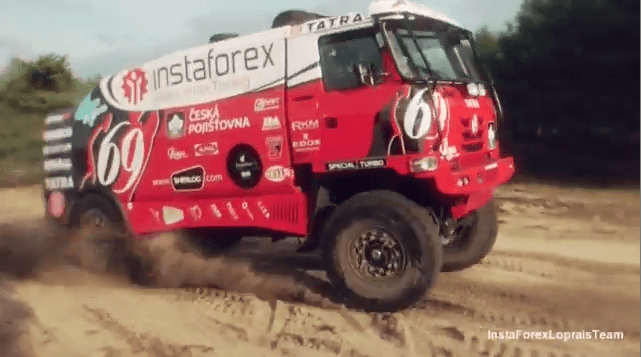 InstaForex Loprais Team: New truck is able to win!