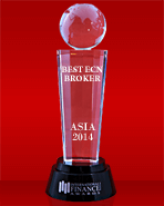 International Finance Magazine 2014 - Mejor Bróker ECN en Asia