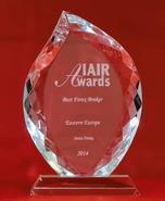 IAIR Awards 2014 - Най-добрият Форекс брокер в Източна Европа