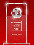 World Finance Awards 2010 – El Mejor Bróker Forex en Asia