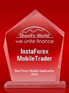 «Лучшее мобильное Форекс-приложение – 2015» по версии ShowFx World