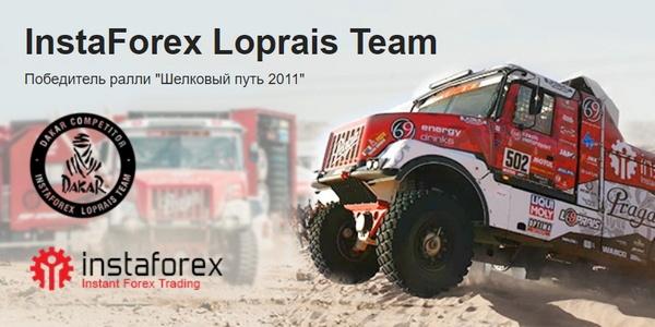 Официальная команда-участник ралли-рейда «Дакар» — InstaForex Loprais Team
